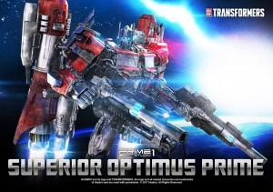 Prime 1 Studio NG-1 Superior Optimus Prime Teaser, Designed by Josh Nizzi