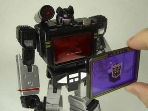 Takara Tomy Transformers Masterpiece MP-13B Soundblaster Optional Purple Chest Piece