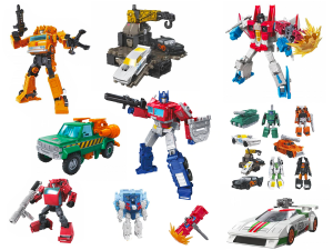 Transformers News: Ages Three and Up Product Updates - October 5, 2019