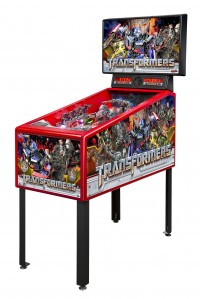 Stern Pinball Introduces the TRANSFORMERS Pin-Stylish, Affordable Pinball Entertainment for the Home