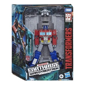 Transformers War for Cybertron: Earthrise Leader Class Optimus Prime In Package Images