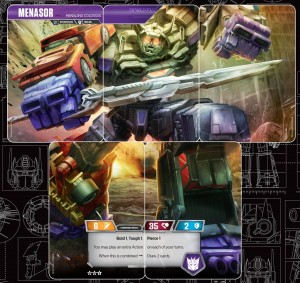 Menasor And Stunticons Revealed For Official Transformers Trading Card Game + Card Analysis