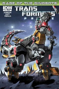 Transformers Prime: Rage of the Dinobots Mini-Series Q&A with Mike Johnson and Mairghread Scott