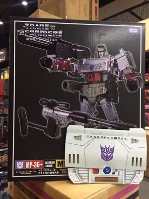 New In-Package Images of Takara Tomy Transformers Masterpiece MP-36+ Toy Accurate Megatron