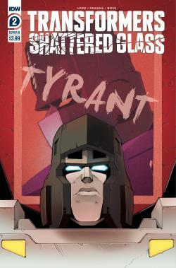 A review of IDW Transformers Shattered Glass #2