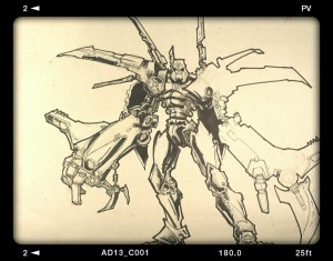 Aaron Archer Unrealised Megatron Design from 2002-3