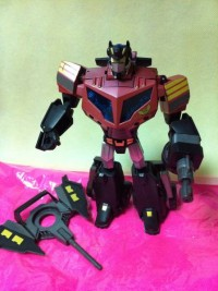 Toy Images of Million Publishing Exclusive Transformers Animated Optimus Prime Elite Guard Version
