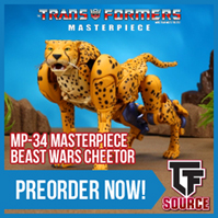 Transformers News: TFsource News! Masterpiece Cheetor, Make Toys Despotron, Perfect Effect, Takara Legends & More!
