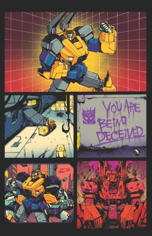 Transformers News: Clean First Page of IDW Optimus Prime #1
