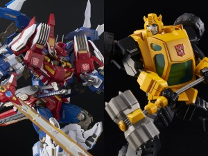 Pre-Orders and Gallery For Bluefin Transformers Star Saber and Bumblebee Collectibles By Flame Toys