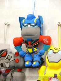 New Transformers Animated Keychain Plushies