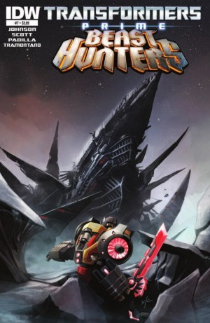 Transformers News: IDW Transformers: Prime Beast Hunters #7 Preview