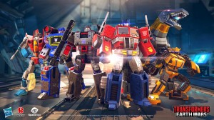 Transformers News: Transformers: Earth Wars Mobile Game - Official Launch Release and Trailer