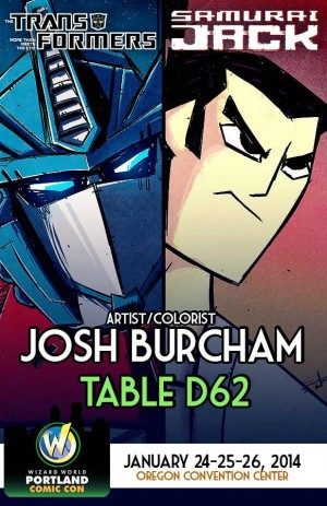 Transformers News: Josh Burcham to Attend Wizard World Portland this Weekend