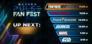 Hasbro Pulse Fan Fest On Now Watch Here