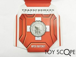 Collector Coin - Transformers Asia MP-30 Masterpiece Ratchet