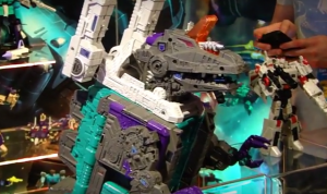 Transformers News: Toy Fair 2017 - Generations Transformers Titans Return Display Video  #TFNY #HasbroToyFair