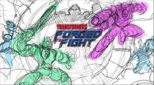 Transformers News: Marcelo Matere Shows Process for Dinobot Vs Galvatron Illustration from Transformers Forged to Fight
