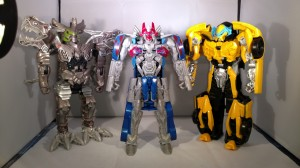 Transformers News: Video Review for all Wave 1 of Armour Knight Turbo Changer Toys from Transformers: The Last Knight