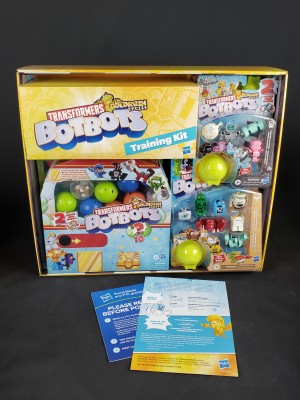 Transformers BotBots Goldrush Games Promo Box Unboxing and Training Video