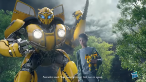 Promo Clips for Transformers Bumblebee Movie Power Charge and DJ Bumblebee Figures #JoinTheBuzz