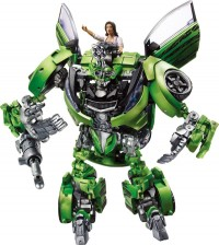 Transformers News: New Human Alliance Images-  Epps / Sideswipe, and Mikaela / Skids / Arcee
