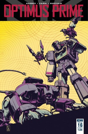 Cover A Revealed for IDW Optimus Prime #16