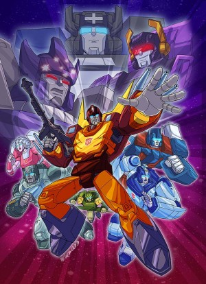 Marcelo Matere Cover Artwork for Transformers Generation One Seasons 3-4
