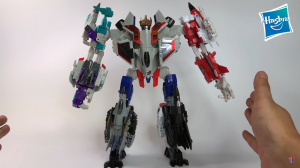 Video Review of Transformers Power of the Primes Voyager Starscream