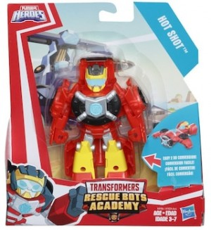 Transformers News: Transformers Rescue Bots Rescan Hot Shot and Wedge Listed on Toywiz