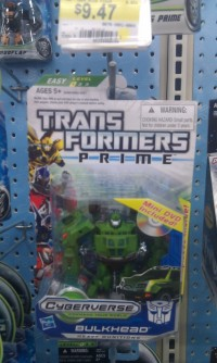 Transformers News: Transformers Prime Cyberverse Commanders with DVD Spotted at Retail