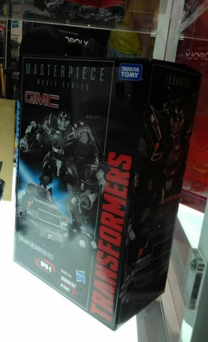 Transformers Movie Masterpiece MPM-6 Ironhide On Display at San Diego Comic Con #HasbroSDCC