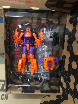 Transformers News: Transformers Generations Selects Deluxe Class WFC-GS05 Lancer Revealed with In-Hand Picture