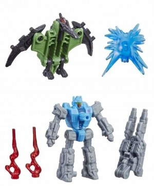 Transformers: SIEGE Battle Masters Pteraxadon and Aimless English Language Video Reviews