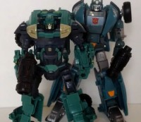 Transformers Prime Deluxe Sergeant Kup Video Review