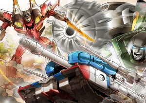 Transformers Cloud: New Story Chapter and Additional TFC-D02 Starscream, TFC-A02 Brawn