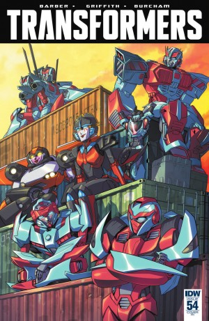 IDW The Transformers #54 Review