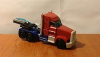 Transformers News: Transformers Prime Voyager Class Optimus Prime Video Review