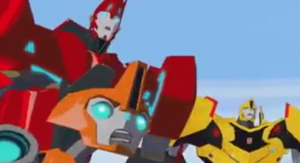 Transformers News: SDCC 2014 Coverage: Transformers: Robots in Disguise Preview