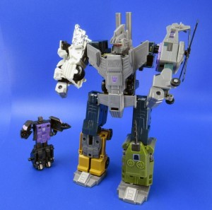 Transformers News: RUMOUR: TakaraTomy Transformers Unite Warriors - Bruticus With New Blast-Off Mold