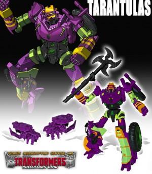 Transformers Collectors' Club Subscription Service 3.0 - Tarantulas (Updated Image)