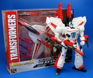 Transformers News: TF Yuki Tweets Legends Jetfire In Package And In Hand Images