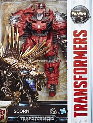 Transformers News: In-Package Image of Transformers: The Last Knight Voyager Scorn