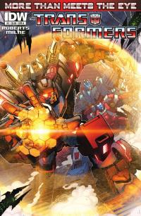 Transformers News: Seibertron.com Reviews IDW Transformers: More Than Meets The Eye #3