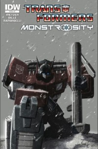 Transformers News: Transformers: Monstrosity #5 Now Available for Download