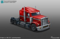 Transformers News: Aligned Optimus Prime Truck Mode Concept Art