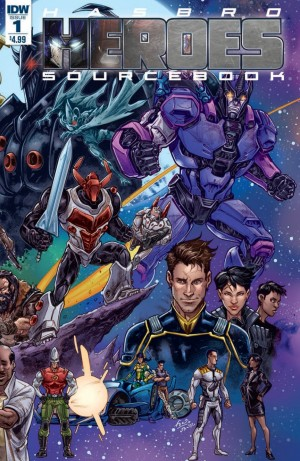 Full Preview for IDW Hasbro Heroes Sourcebook: Transformers and Hasbro Universe