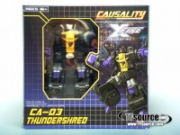 FansProject CA-03 Thundershred Now In-stock at TFsource & Finished Product Photos