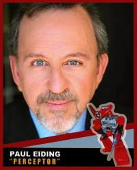 Transformers News: Charticon 2013 welcomes Paul Eiding to Charlotte!
