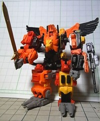 Transformers News: 2010 Wonder Festival (Summer) Exclusive - Jizaitoys Nano Scale Transformers Predaking